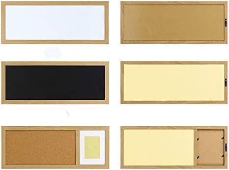 Tablero de Corcho de pared rectangular Cork foto del tablero de la pizarra y consejos de Bloc de notas multifunción pared de la decoración del hogar (Color : Picture Color ,