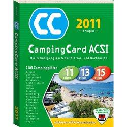 Tarjeta de camping ACSI: Amazon.es: Deportes y aire libre