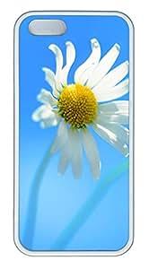 iPhone 5 5S Case Super Nice Dandelion TPU Custom iPhone 5 5S Case Cover White