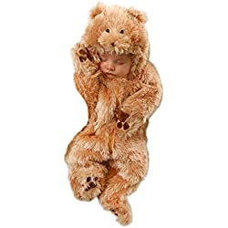 Princess Paradise Baby's Snuggle Bear Deluxe, As Shown, 0/3M