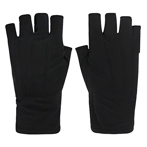 Summer Driving Gloves Half Finger Screen Touch for Women Men Breathable Cotton UV Sun Protection Motorcycle Fitness Cycling Driving Gloves Ladies Lightweight Antislip Fingerless Touchscreen Gloves