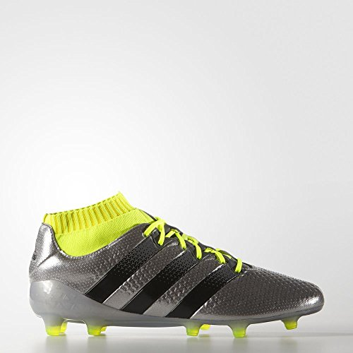adidas Mens Ace 16.1 Primeknit Firm Ground Silvmt/Cblack/Syellow OVxra0OQaZ