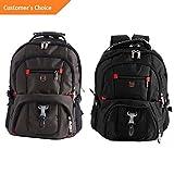 Kaputar Mens Rucksack Notebook 15.6 Laptop Backpack Shoulder Hiking Travel School Bag   Model BCKPCK - 869  