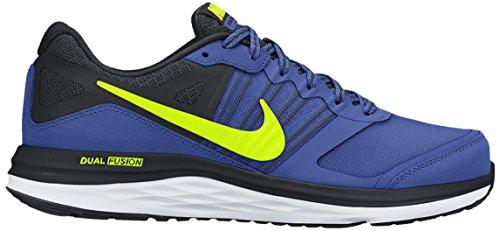 Nike Dual Fushion X (GS) - Zapatillas para niño Azul royal / Amarillo / Negro
