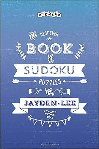 The Best Ever Book Of Sudoku Puzzles For Jayden Lee Books Riddler 9781002082362 Amazon Com Books Jayden lee pornstar videos free on 4tube.com. amazon com