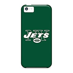 High Quality phone cover shell Cases Covers For Iphone Appearance iphone 5c - new york jets 2
