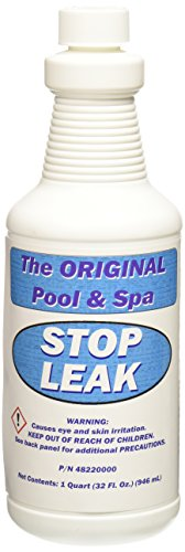 Pentair 48220000 1-Quarts Bottle Stop Leak Replacement Pool and Spa ()