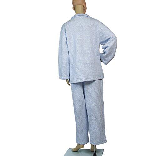MagiDeal Female Patient Cloth Hospital Nursing Tops Elastic Waist Pants Medication Aids - M by MagiDeal