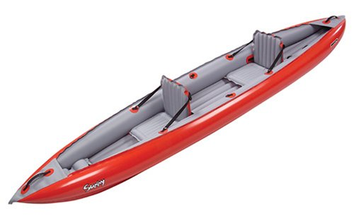 Innova Sunny Inflatable Kayak-Red/Gray