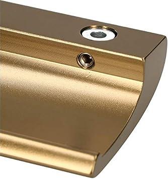 cierre de puerta de puerta seguro para fumar KOTARBAU terraza Tirador de aluminio para puerta de balc/ón mango universal de lujo