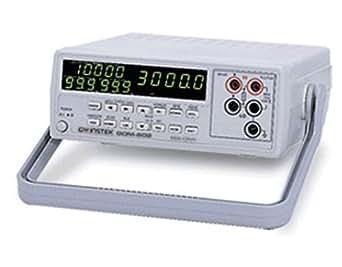 GW Instek GOM-802 - Miliohmetro de gran precisión (CC, conexiones RS-232C y GPIB, pantalla GPRS, 7 rangos de prueba, 30.000 cuentas)