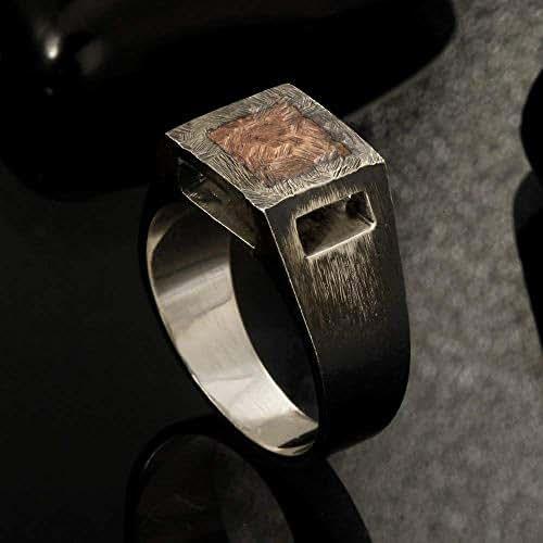 Amazon.com: Rustic mens ring, Unique men's ring, Signet ...