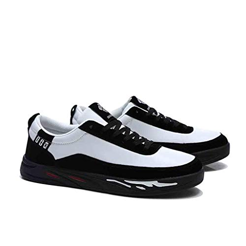 Amazon.com: TIFENNY Flat Casual Sneakers for Men Shoe Student Running Hiking Shoes Lace-Up Breathable Comfort Low Shoes: Clothing
