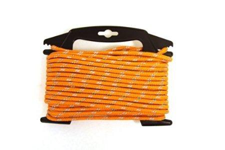 "Wellington Secureline RMFPO1450 1/4"" X 50' Orange Reflect..."