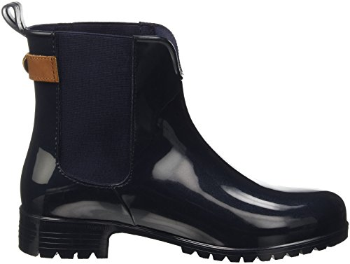 Hilfiger 2z2 4 403 O1285xley Women's Multicolour Black Midnight Boots UK Slouch Tommy 7tq4awxd4