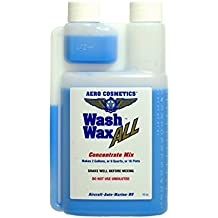 Wash Wax ALL Waterless Aircraft RV Boat Car Wash & Wax 2 Gallon Concentrate 16 Ounce