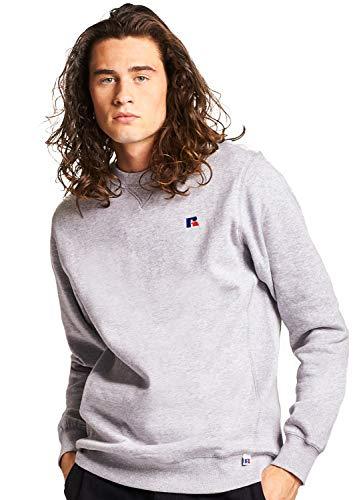 Russell Athletic Heritage Men's Frank Crew Sweatshirt, Oxford L
