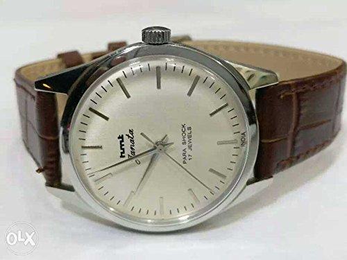 HMT Janata Mechanical Watch - Silver Dial