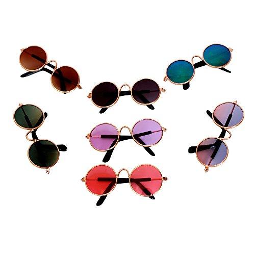 HappyBB 1 PCS Doll Sunglasses for 18 inch American Girl Dolls (Color - Doll Sunglasses Mini For
