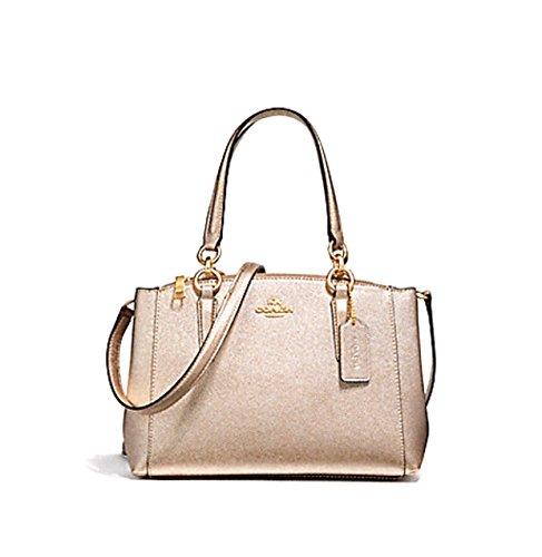 Coach Women's Hand shoulder bag F23337 (Bare - Bag Embossed Coach Shoulder