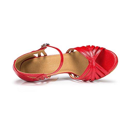 femme 10cm Miyoopark Red Heel bal Salle de pwwqXt