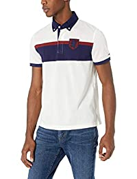 Tommy Hilfiger Mens Short Sleeve Smith Polo Polos