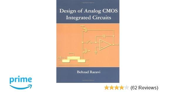design of analog cmos integrated circuits 1st edition razavi