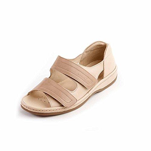 Sandpiper - Sandalias de vestir para mujer Stone/Beige