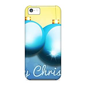 Cynthaskey Fashion Protective Merry Christmas Case Cover For Iphone 5c
