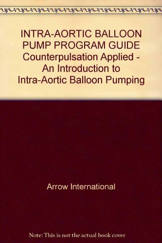 INTRA-AORTIC BALLOON PUMP PROGRAM GUIDE Counterpulsation Applied - An Introduction to Intra-Aortic Balloon Pumping (Intra Aortic Pump Balloon)