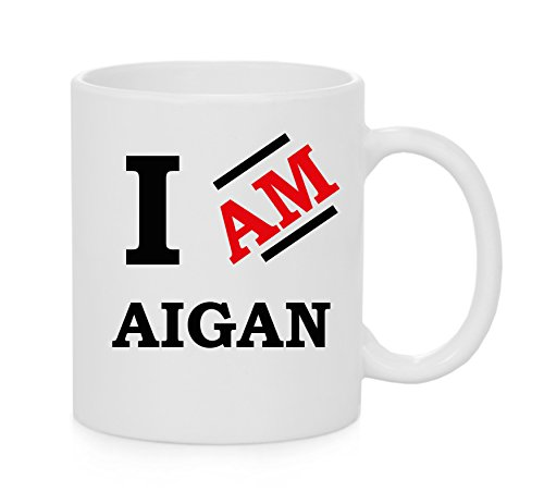 I Am Aigan Official Mug from IamEngland