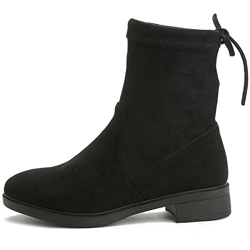 KHSKX-European And Us-Soviet Boots Autumn And Winter The New Martin Boots The Air Is Thick With Leisure Single 38 ve2OqXsT