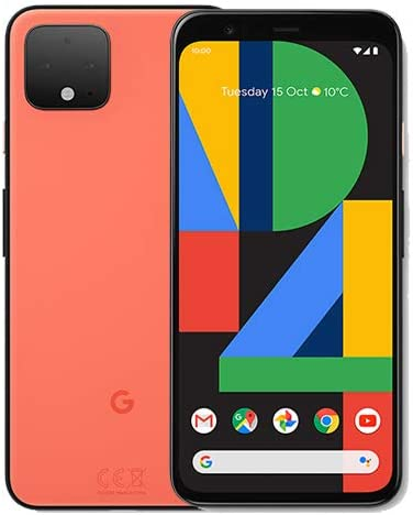 Google Pixel 4 G020M 64 GB 5.7 Pulgadas Android (sólo gsm, no CDMA ...