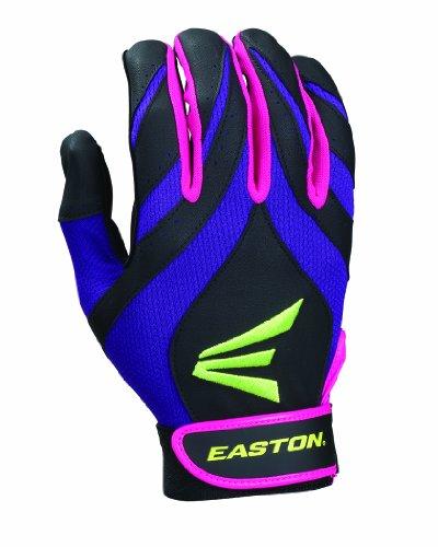 Easton Synergy Ii Fastpitch Batting Gloves Purple Pink