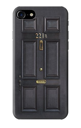 R2851 Sherlock Holmes Black Door 221B Case Cover For IPHONE 7