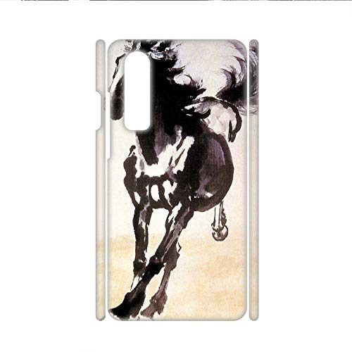 - Babu Building On for Child Printing Asian Horse Artists Shock Resistance Pc Case
