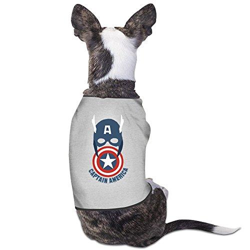 Captain America Civil War 2016 Pet Dogs T Shirt