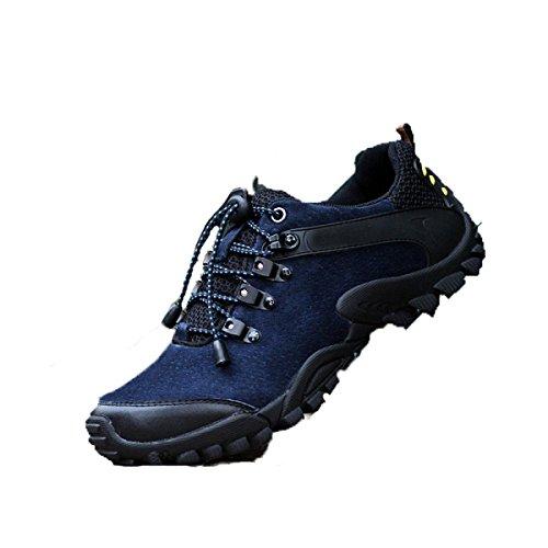 Casuales Deportes Al Aire Libre De Primavera Y Otoño De Los Hombres Zapatos Para Correr De Varios Tamaños De Varios Tamaños Blue
