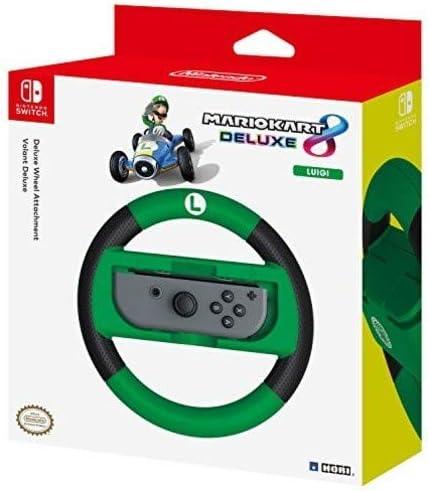 Hori - Volante Mario Kart 8 Deluxe Luigi (Nintendo Switch): Amazon.es: Videojuegos