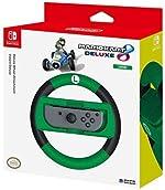 HORI Nintendo Switch Mario Kart 8 Deluxe Wheel (Luigi Version) Officially
