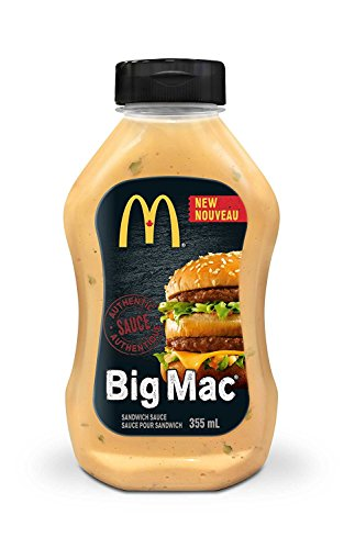 Mcdonald's Sauce - ( 355ml/12.00 Ounces each) {Imported from Canada} (BigMac)