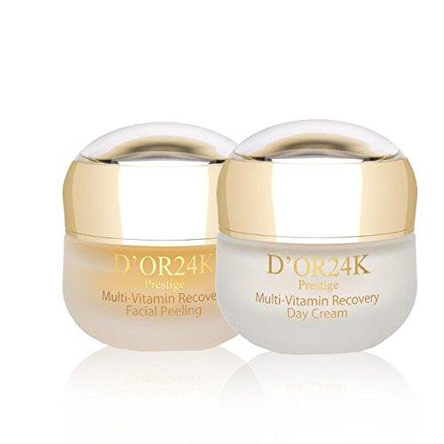 Price comparison product image D'or 24K Facial Peeling & Moisturizer Set