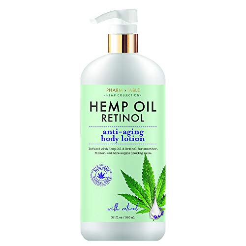 41Rd8Jg%2BFkL - Hemp Body Lotion Retinol Anti-Aging 32oz / 960ml by Pharm to Table
