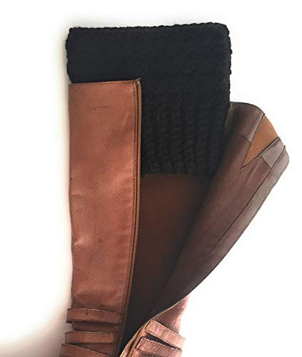 newest best quality first look Amazon.com: Extra Wide Calf Boot Cuffs for Women Peruvian Wool ...