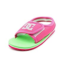 DC Shoes Baby-Boys Dc Shoes Kimo - Sandals - Kids - Us 8 - Pink Pink/White Us 8 / Uk 7 / Eu 24