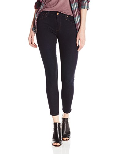 James Jeans Women's James Twiggy 5-Pocket Ankle Legging Jean in Solstice, Dark Blue, 28