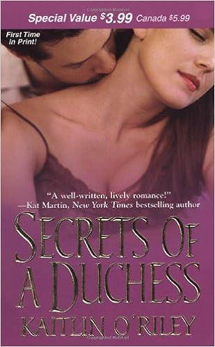 Secrets of a Duchess (Zebra Historical Romance) (Zebra Debut)
