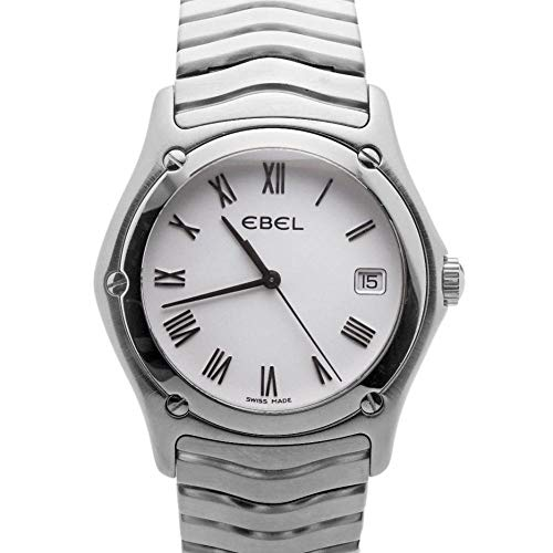 Ebel Classic Wave Watch - Ebel Wave Quartz Male Watch E9187F41 (Certified Pre-Owned)