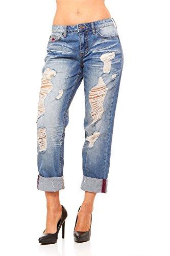 Christopher Blue Corduroy Jeans - 6