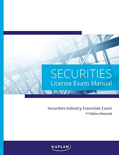 Prep Manual - Securities Industry Essentials License Exam Manual, 1st Edition (Revised)